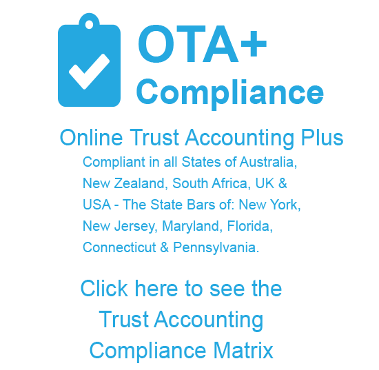 Trust Accounting Compliance Matrix