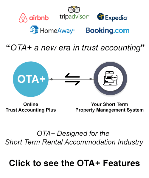 Trust Accounting for the Short Term Rental Accommodation Industry
